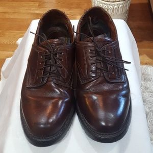 Frye brown loafers